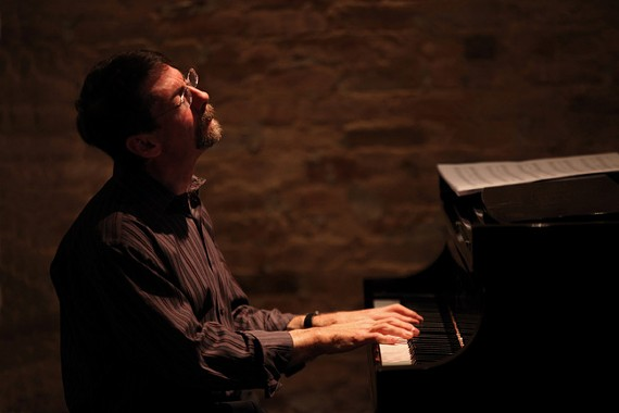 Forward motion: Legendary jazz pianist Fred Hersch will showcase big band arrangements of his songs at the Singleton Center this week. - STEVE J. SHERMAN