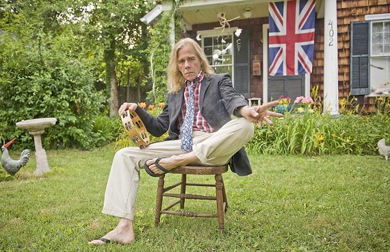 From his sideman role in the Fugs to his steady acting career, Renaissance man Coby Batty (relaxing outside his Richmond home) is staying busy these days. - ASH DANIEL