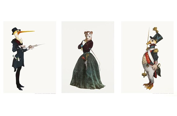 """From left to right: """"The Doctor,"""" """"The Lioness,"""" and """"The Loyalist."""""""