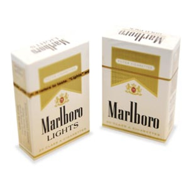 Marlboro Gold Lights From Light to Gold, Ma...