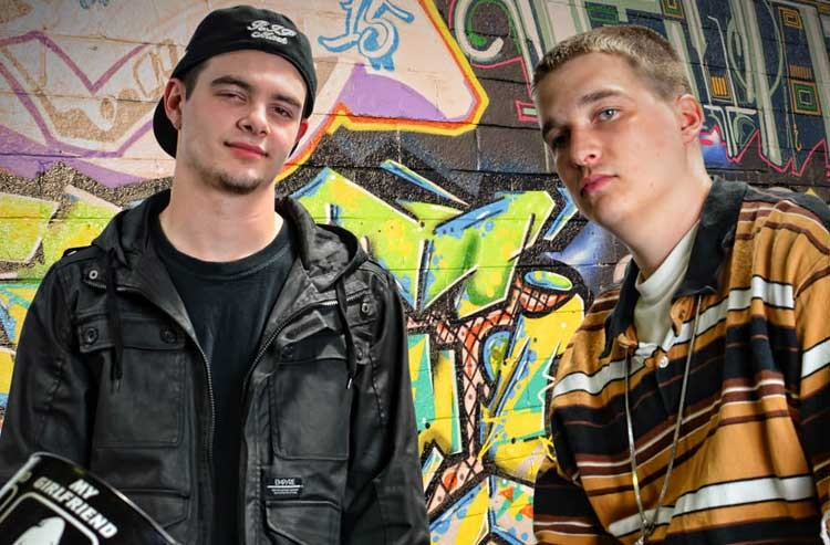 Gabe Rod and Aron Jefferson is II Shae, one of three new Chesterfield hip-hop acts making music-industry noise. - ASHBY JEFFERSON