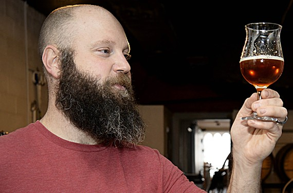 Garden Grove Brewery's Michael Brandt regained his lost sense of smell through hard work.