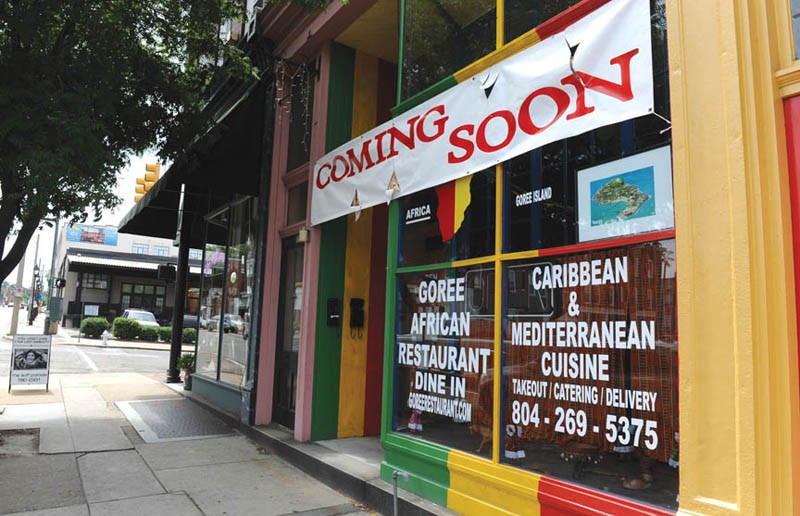 Goree African Restaurant is dressed and ready to open, with hiring in progress in Shockoe Bottom. - SCOTT ELMQUIST