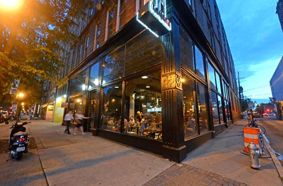 """Graffiato, the much talked-about and long-awaited restaurant from """"Top Chef"""" and """"Top Chef Masters"""" Mike Isabella, finally opened in the old Popkin Tavern. - SCOTT ELMQUIST"""