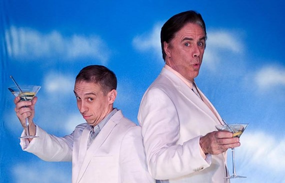 "Grift away: Broadway veteran Jeff McCarthy (right) joins popular Richmond actor Scott Wichmann in Barksdale Theatre's ""Dirty Rotten Scoundrels."" - AARON SUTTEN"