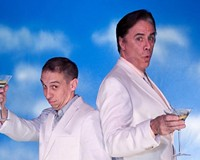 "Grift away: Broadway veteran Jeff McCarthy (right) joins popular Richmond actor Scott Wichmann in Barksdale Theatre's ""Dirty Rotten Scoundrels."""