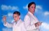 "Grift away: Broadway veteran Jeff McCarthy (right) joins popular Richmond actor Scott Wichmann in Barksdale Theatre's ""Dirty Rotten Scoundrels."""