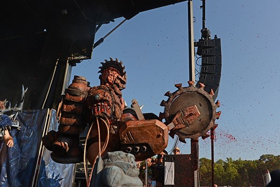 Gwar-B-Q will take place over three days this year from Aug.14-16.
