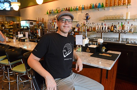 He may not be Jewish, but Kevin Roberts, owner of Perly's Restaurant & Delicatessen, has a lot of family members who help him fine-tune his cultural dishes.