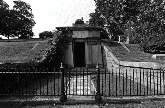 Here lies Richmond's most famous bloodsucker, in Hollywood Cemetery. - SCOTT ELMQUIST