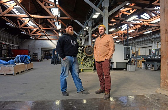 Hinmaton Hisler and Christopher Hildebrand are blacksmiths by training, but they're solving design challenges with high-tech and historic methods.
