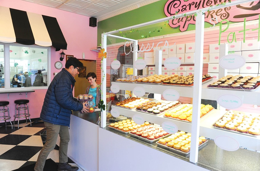 Hla-Gyaw's morning run takes him from Carytown Cupcakes to the West End, where he makes stops at a dozen ethnic markets and specialty shops. - SCOTT ELMQUIST