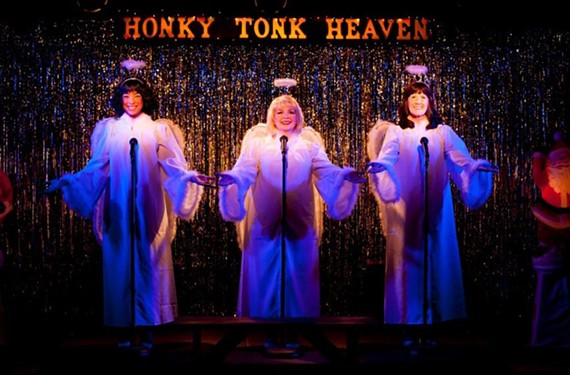 Honky Tonk Angels Holiday Spectacular at Swift Creek Mill Theatre, Nov. 29. - ROBYN O'NEILL