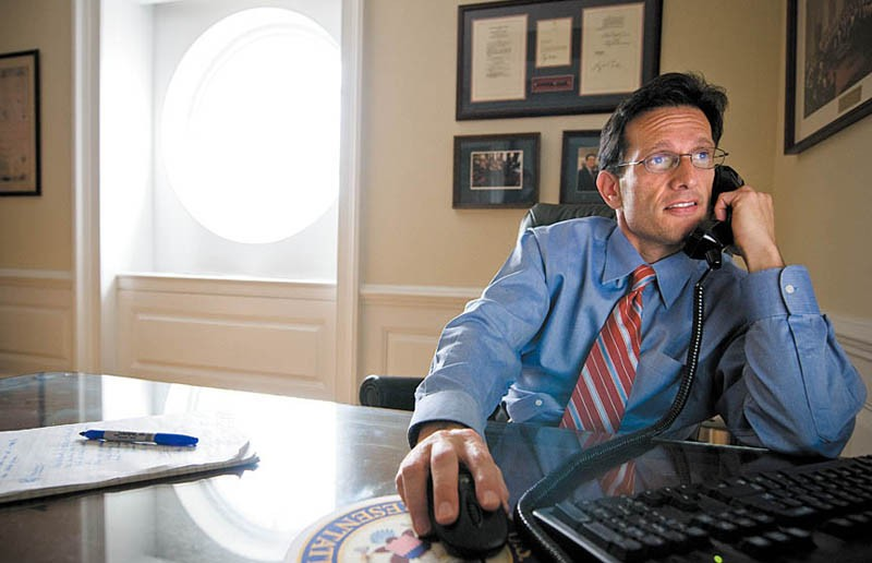 House Majority Leader Eric Cantor is attempting to recast the Republican Party. - ASH DANIEL