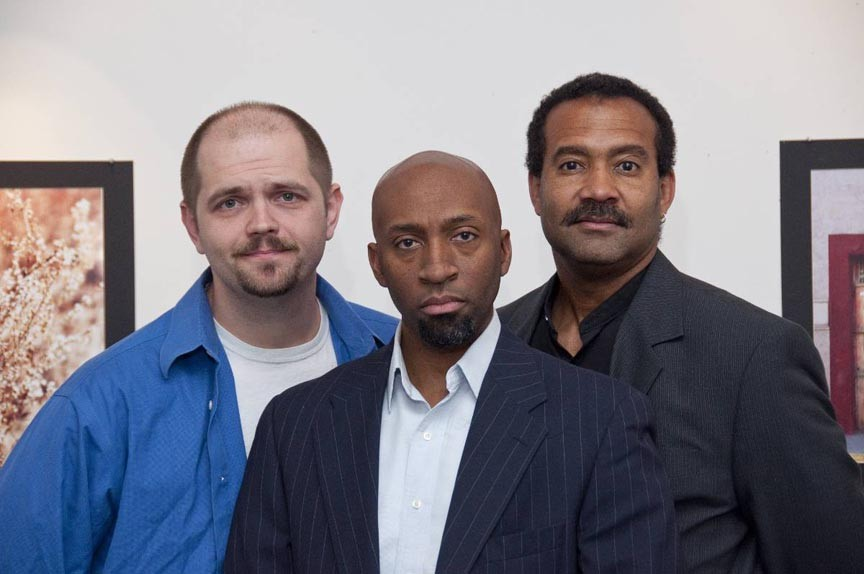 """""""I know what I like."""" David White, D.L. Hopkins and J. Ron Fleming are the stars of """"Art,"""" co-produced by Sycamore Rouge and Richmond Shakespeare. - ERIC DOBBS"""
