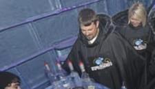 Ice Bar Hits Rocks
