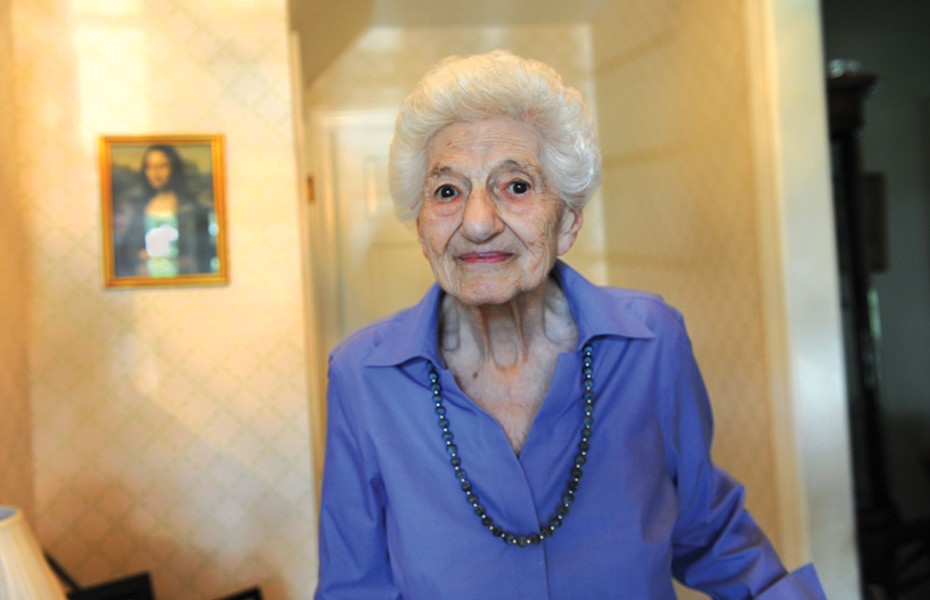 Ida Plotnick Schreiber, 93, lived and worked at her parents' grocery store on East Main Street and often visited her grandparents on North 19th Street next to Keneseth Israel. - SCOTT ELMQUIST