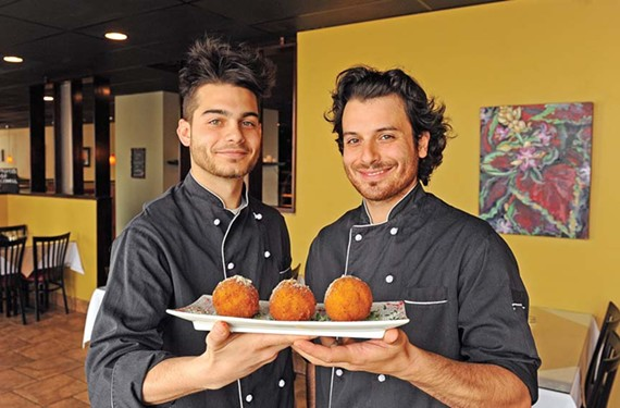 If the arancini can't pull you in to Sapori, maybe the owners' sons Luca and Dario Amato will. - SCOTT ELMQUIST