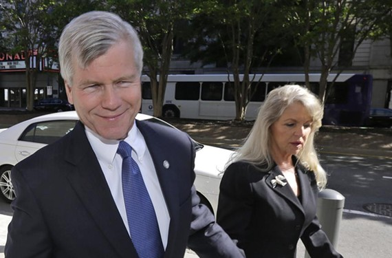 Image consultants are talking about former Gov. Bob McDonnell and first lady Maureen McDonnell's gray-haired appearance at a hearing last week related to their federal corruption charges.