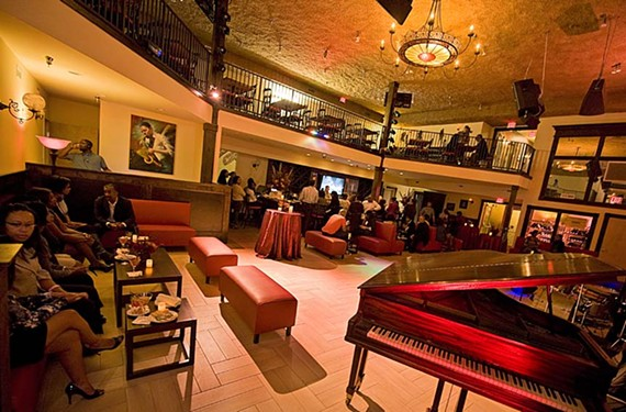 In The Speakeasy behind Taylor Mansion, it takes a password to enter. The sound system and staging in the club and adjoining Hippodrome Theater give downtown a new entertainment destination. - ASH DANIEL