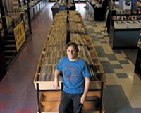 In the sweet spot: Jim Bland, co-founder and owner of Plan 9 Records.