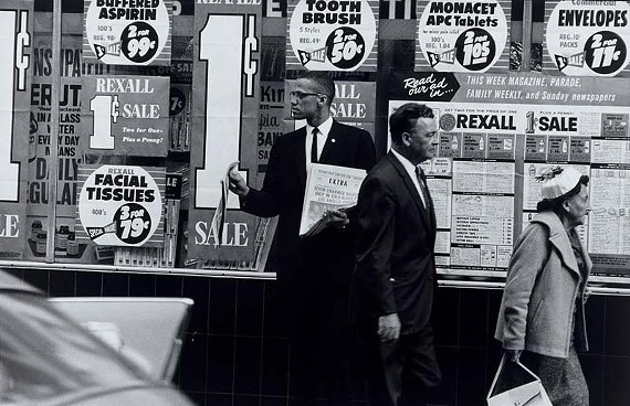 """Indelible images of Malcolm X, top, and W.E.B. Dubois are among the highlights of the """"Let Your Motto Be Resistance"""" exhibit, currently at the Black History Museum."""