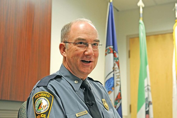Insiders hope new chief Douglas Middleton will bring a breath of fresh air to the Henrico County Division of Police. - SCOTT ELMQUIST