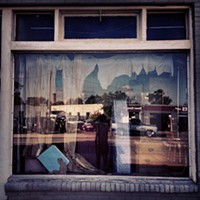 #HiddenRVA on Instagram Instagram by: Spencer L. Turner (@bprva)Where: Abandoned storefront on Overbrook.What caught my eye: This window reminded me of some fallen Golden-Age Hollywood starlet, still wearing her Oscar finery from her glory days and quaffed in a cloud of quaaludes and cheap bourbon. Sexy as all get-out.
