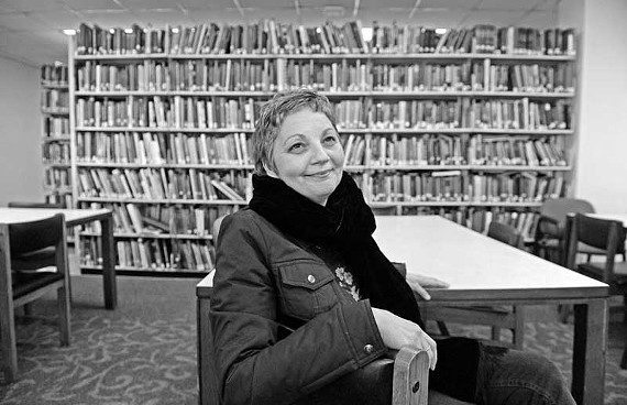 """""""It really doesn't happen like this."""" Kathleen Graber's """"The Eternal City"""" has been nominated for several prestigious writing honors, and recently earned the Library of Virginia's award for poetry. - SCOTT ELMQUIST"""