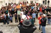 It was the defining moment in the women's rights movement of 2012: On March 3, dozens of protesters descended on the state Capitol steps, leading to a confrontation with police that made national headlines.