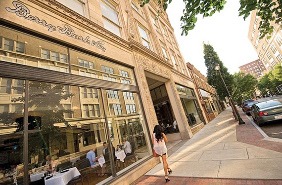 Its owners hope 525 at the Berry Burk will spark a renaissance on East Grace Street, a once-thriving retail district that seems frozen in time.