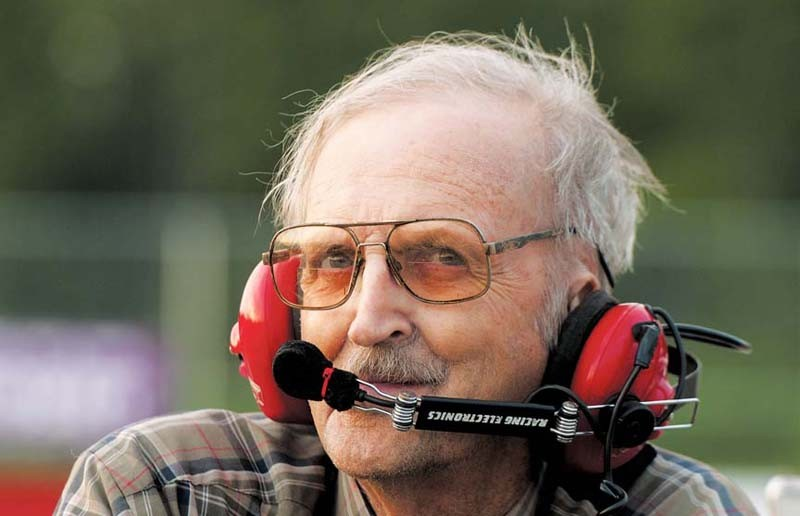 """Jack """"Crackerjack"""" Baldwin is a five-time racing champion who logged 125 wins during his nearly 30-year career, which started in earnest in the 1960s. Now 76, he plans to return to the track to race his friend's Grand Stock racecar Sept. 2. - SCOTT ELMQUIST"""