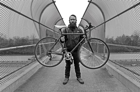 James Ginnell of Tailwind Bicycle Co. - SCOTT ELMQUIST