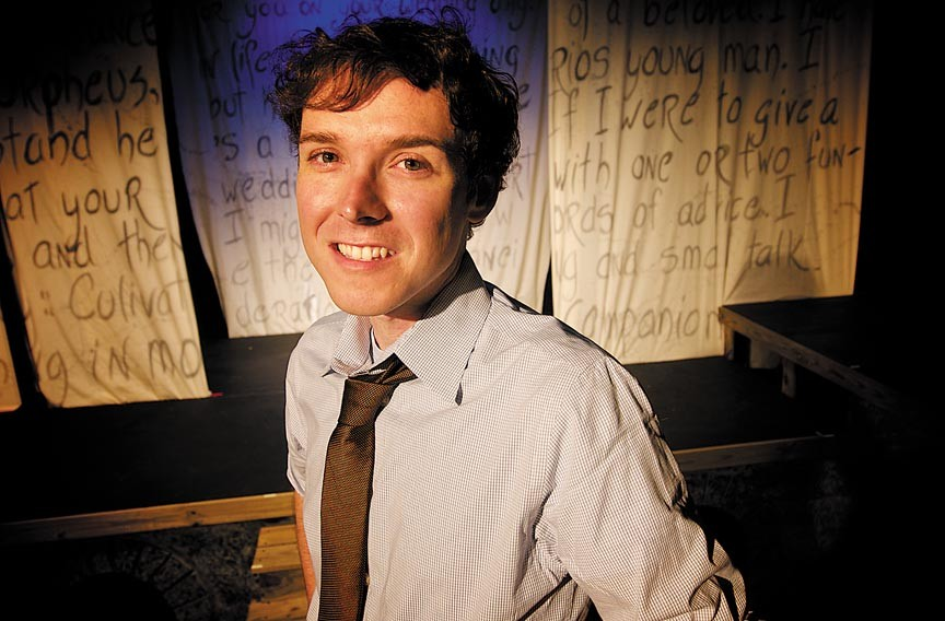 "Jase Smith, interim director of the Firehouse Theatre Project, is working to reschedule some canceled productions, including ""Any Given Monday."" - ASH DANIEL"