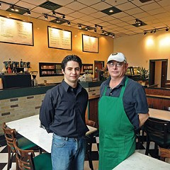 Jeff and Steve Austin hope to draw weekday breakfast and lunch traffic to their new business, Canal Cafe, downtown.
