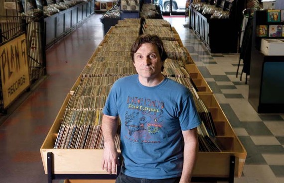 Jim Bland, owner of Plan 9 Music. - SCOTT ELMQUIST