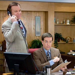 """John C. Reilly and Ed Helms learn the hard way that what happens in """"Cedar Rapids"""" should stay in Cedar Rapids."""