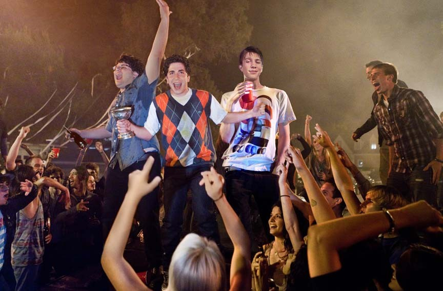 """Jonathan Daniel Brown, Oliver Cooper and Thomas Mann star in """"Project X,"""" a serious motion picture based on one of Henrik Ibsen's most sobering existentialist plays. Yeah, right. - BETH DUBBER"""