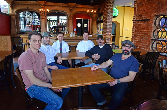 Justin Tingley, Aaron Cross, Arthur Grant, Billy Fallen, Tuffy Stone and Ed Vasio make up the team behind Rancho T.