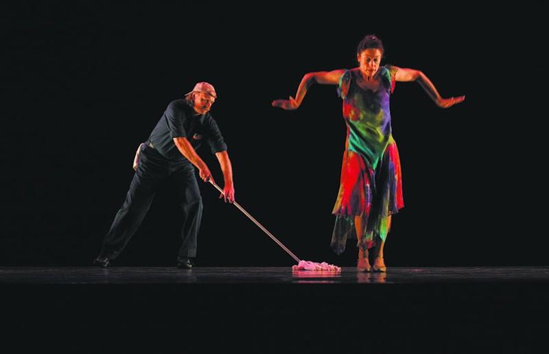 K Dance's David Bridgewater and Kaye Weinstein Gary. - KENT EANES