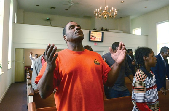 Karl Green, a graduate of the Kingdom Life Ministries program, says finding God at Richmond's City Jail gave him a new lease on life. - SCOTT ELMQUIST
