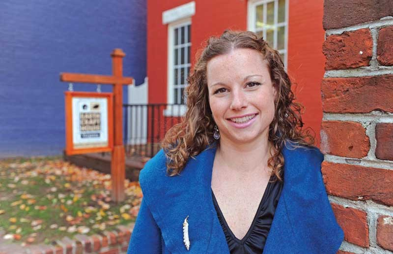 """KC McGurren is executive director of EarthCraft Virginia and chair of the Green City Commission. The commission will develop """"an aggressive, very long-term, ideal optimal scenario"""" for a sustainable Richmond, she says, as well as a road map to get there."""