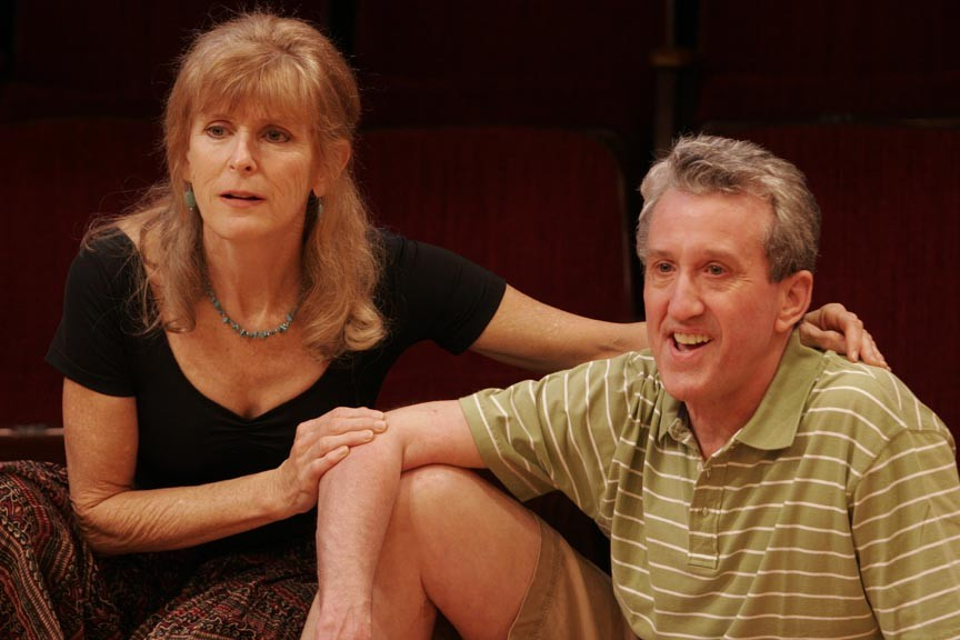 Kelly Kennedy and Daniel Moore take their time in a new production of Annie Baker's Obie-winning play. - JAY PAUL