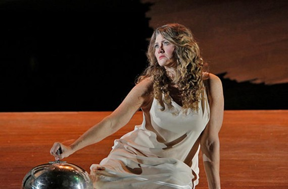 Leading lady and Metropolitan Opera soprano Kelly Cae Hogan as Salome in the Portland Opera production of the legendary Richard Strauss work. The Virginia Opera is celebrating its 40th anniversary year.