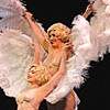 Legs 'n' Eggs Shine at Fabergé Burlesque Show