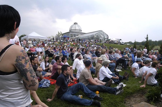 Lewis Ginter's Groovin in the Garden series, which has hosted artists ranging from Aimee Mann and Mavis Staples to Dweezil Zappa, has been on hiatus for two years.