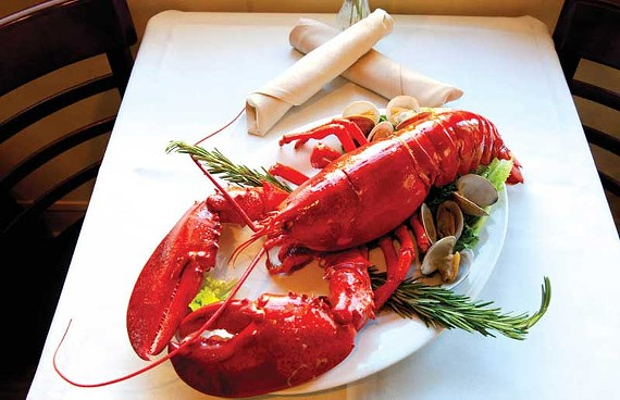 Lobster is prepared six ways on the new menu at Byram's, a longtime local landmark near WTVR. - SCOTT ELMQUIST