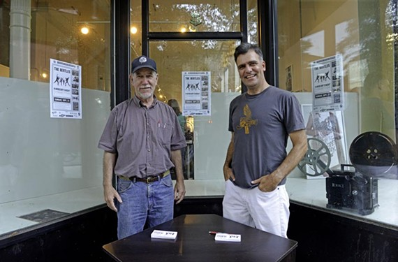 Local film veterans Terry Rea and James Parrish have been slowly but steadily searching for a spot for their Bijou Theater, a small community art theater and film center.