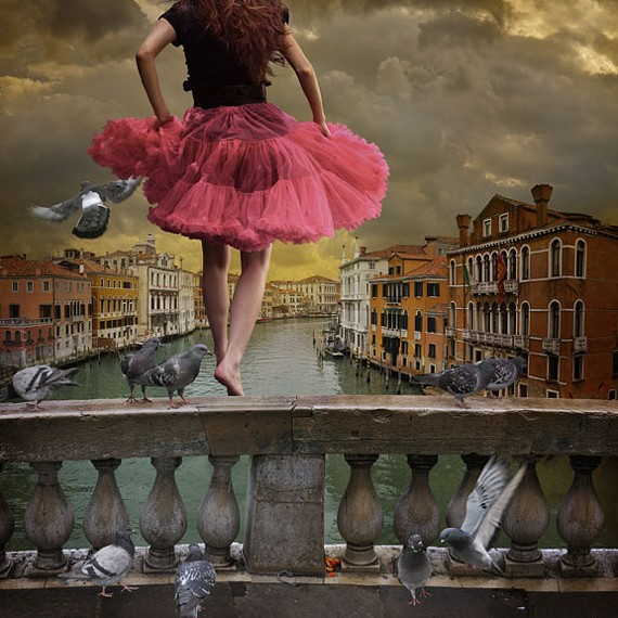 """Local photographer Tom Chambers' surreal """"View from a Bridge"""" is just one of the many talented works from local and visiting photographers chosen for Glave Kocen's """"Click III"""" exhibit opening Feb. 7."""