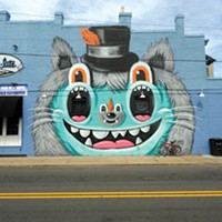 The Richmond Mural Project Location: 2600 W. Main St., east wall of Star-lite. Artist: Greg Mike.